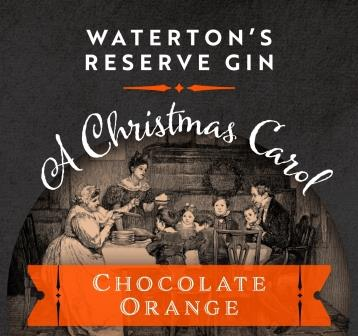 Chocolate Orange Gin Waterton's Reserve