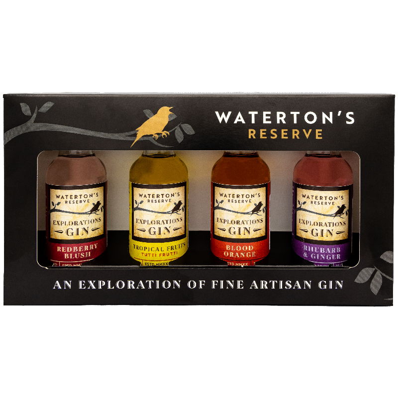 Waterton's Gin Experience Gift Set - Explorations Range